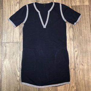 J.Crew Navy XXS Dress with Pockets